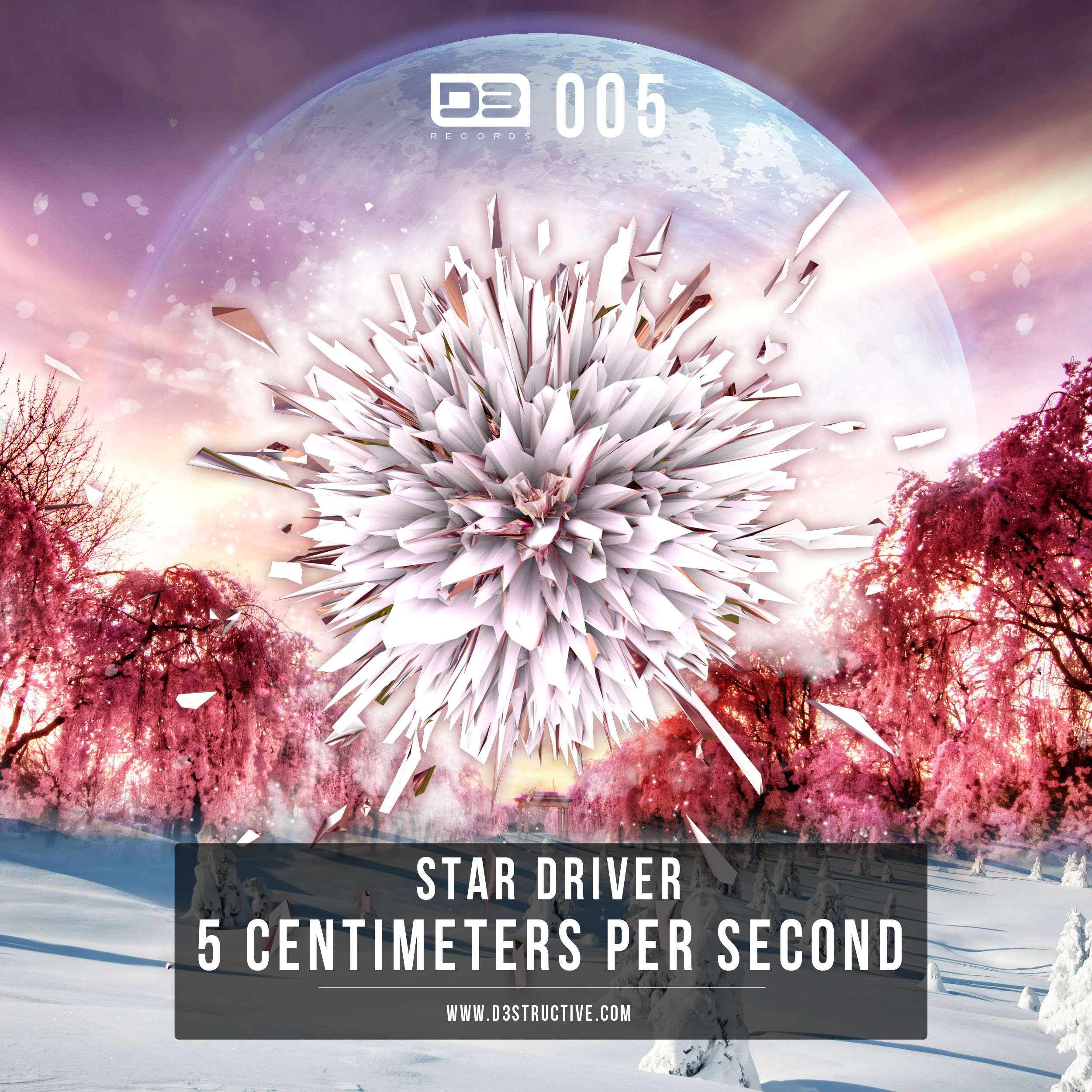 X 2500 Image Tracklist 01 Star Driver 5 Centimeters Per Second