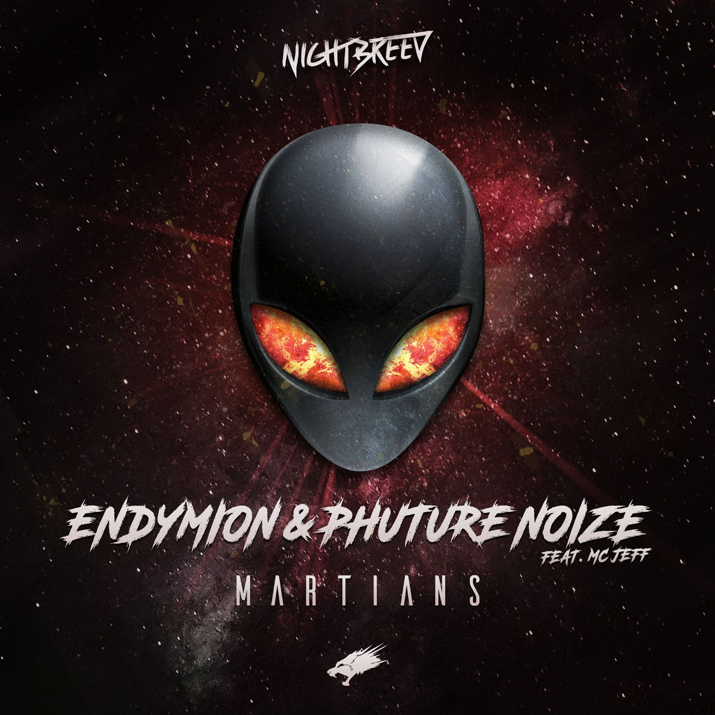 Endymion & Phuture Noize Feat MC Jeff - Martians [NIGHTBREED NOCTURNAL RECORDS] NBN02