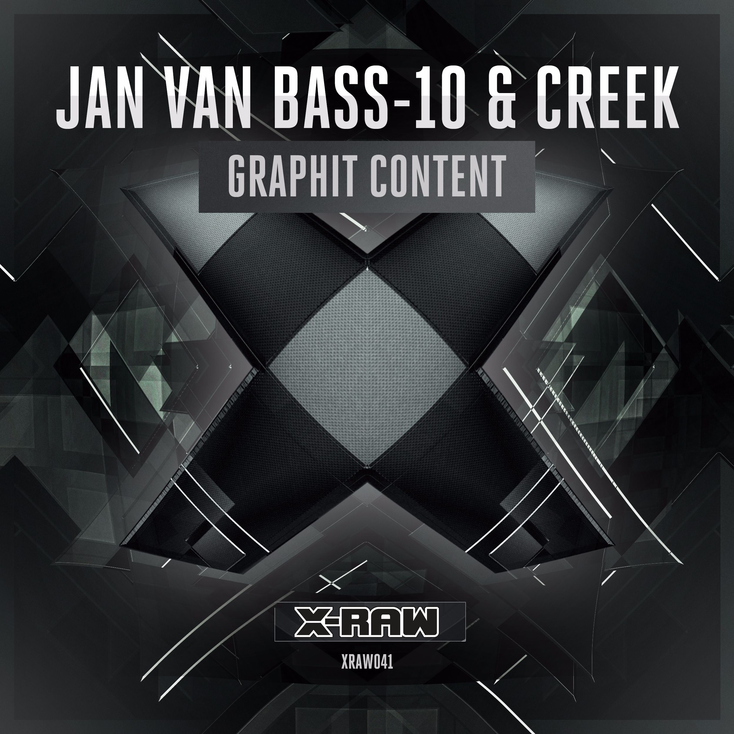 Jan Van Bass-10 & Creek - Graphit Content [X-BONE RAW] XRAW041