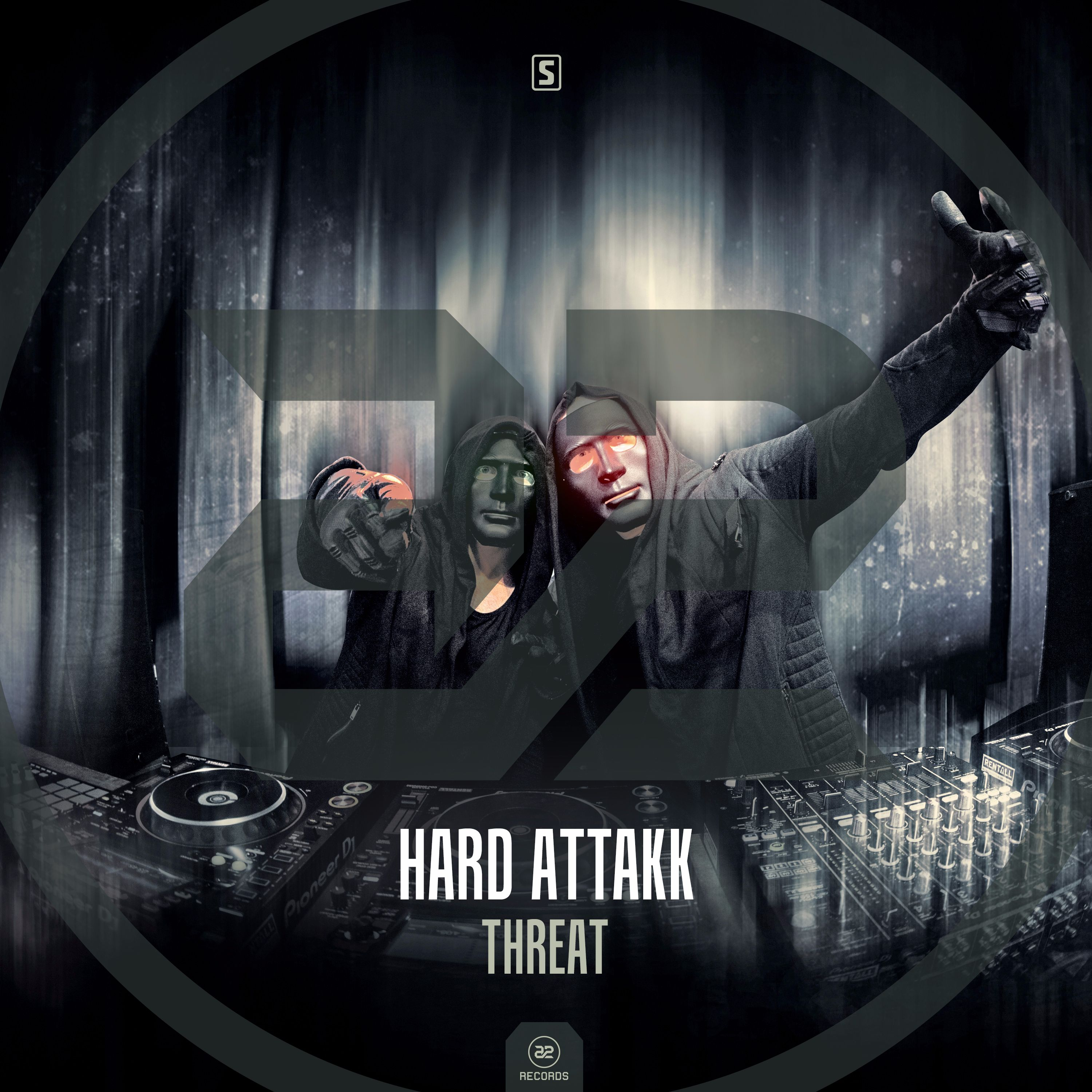 Hard Attakk -  Threat [A2 RECORDS] A2REC163