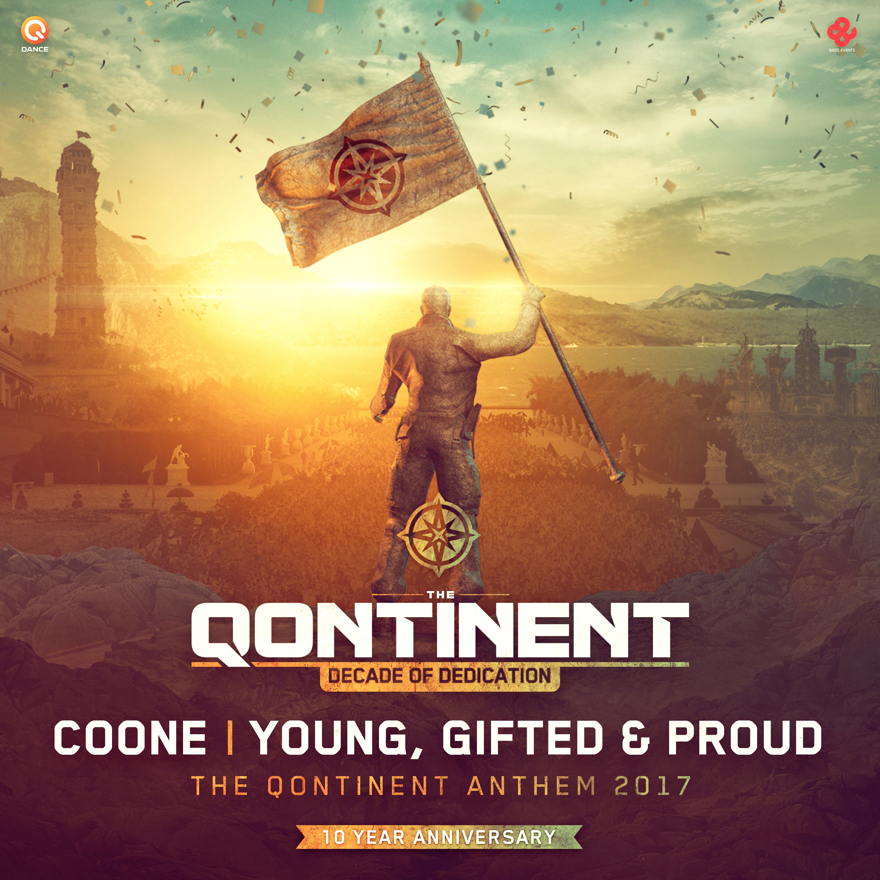 Coone - Young, Gifted & Proud (The Qontinent Anthem 2017) [Q-DANCE RECORDS] Q159
