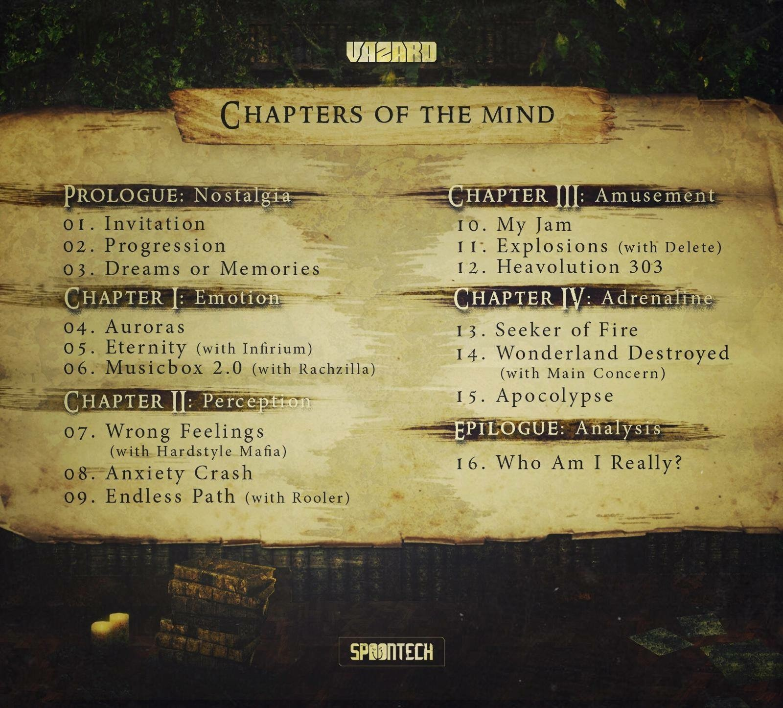 Vazard - Chapters of the Mind